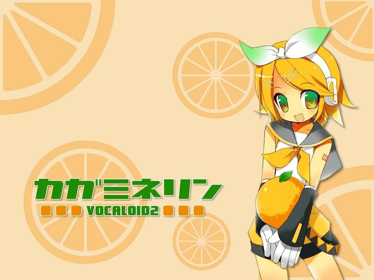 headphones blondes vocaloid gloves HD Wallpaper