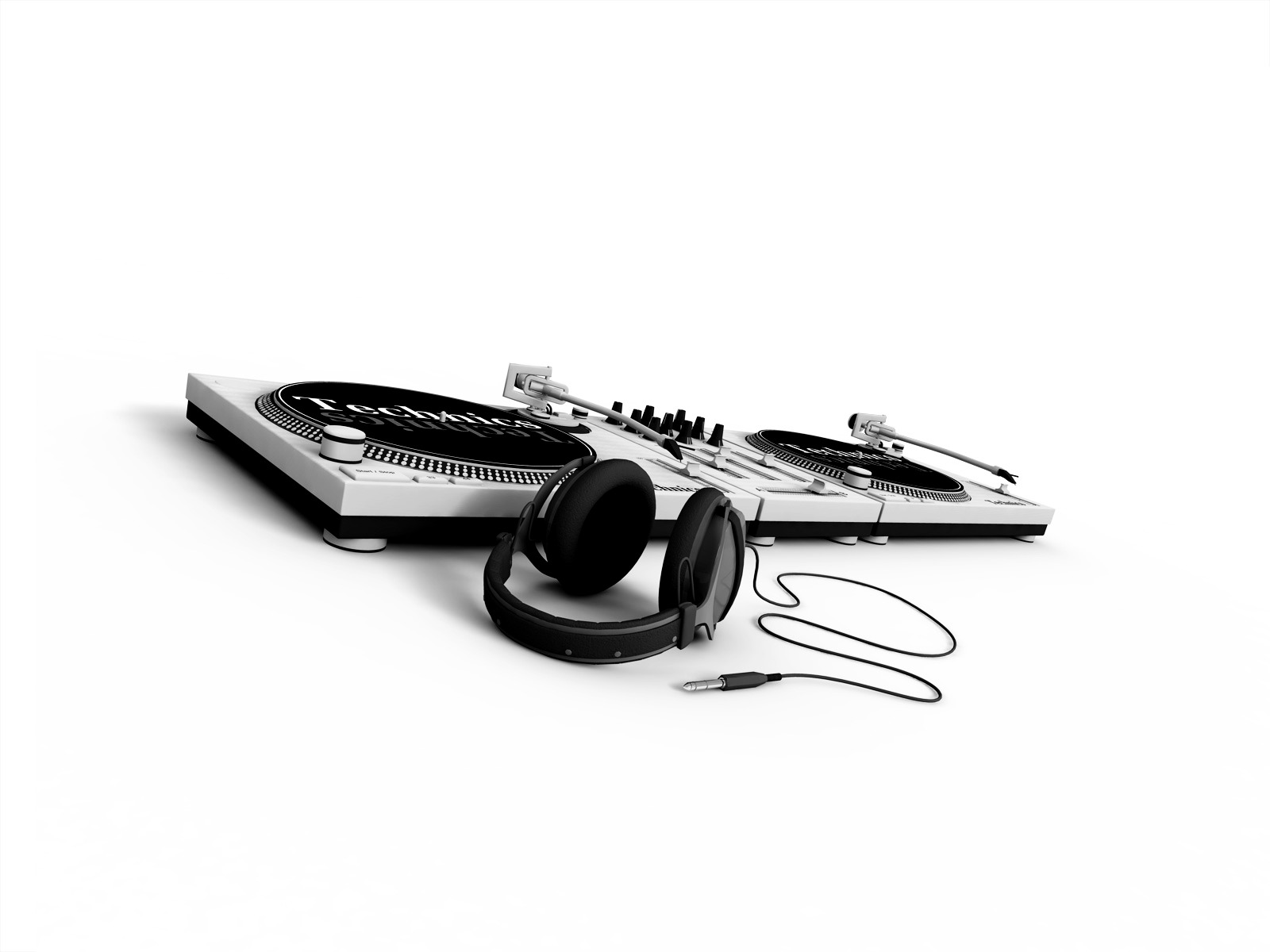 headphones Music turntables