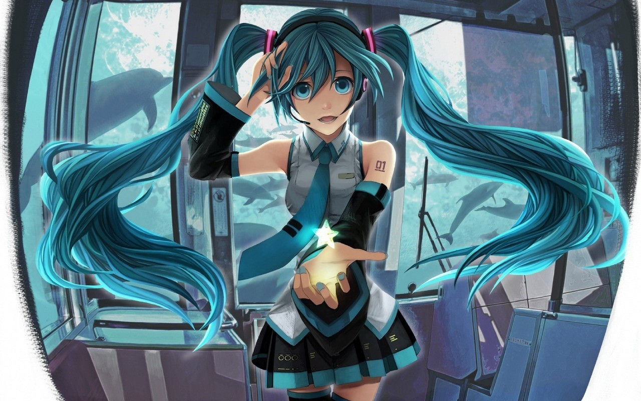 headphones tattoos vocaloid Stars HD Wallpaper