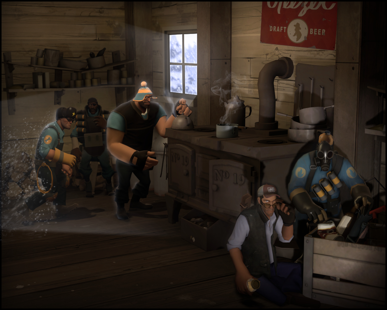 heavy team fortress 2 HD Wallpaper