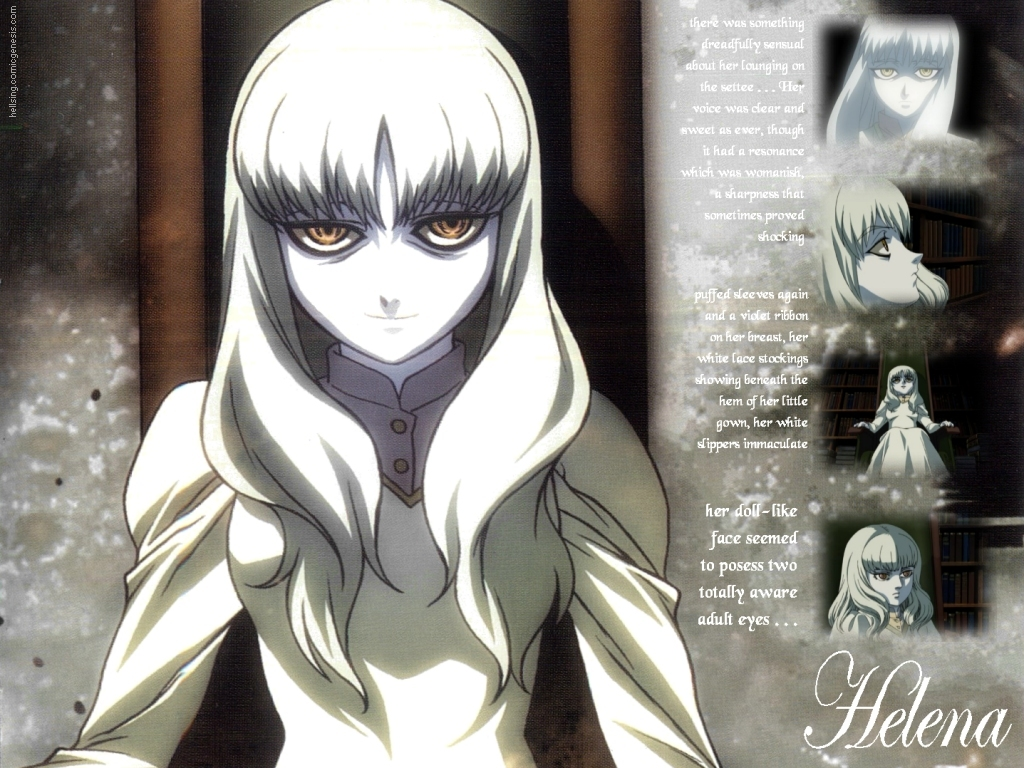 Helena Anime HD Wallpaper