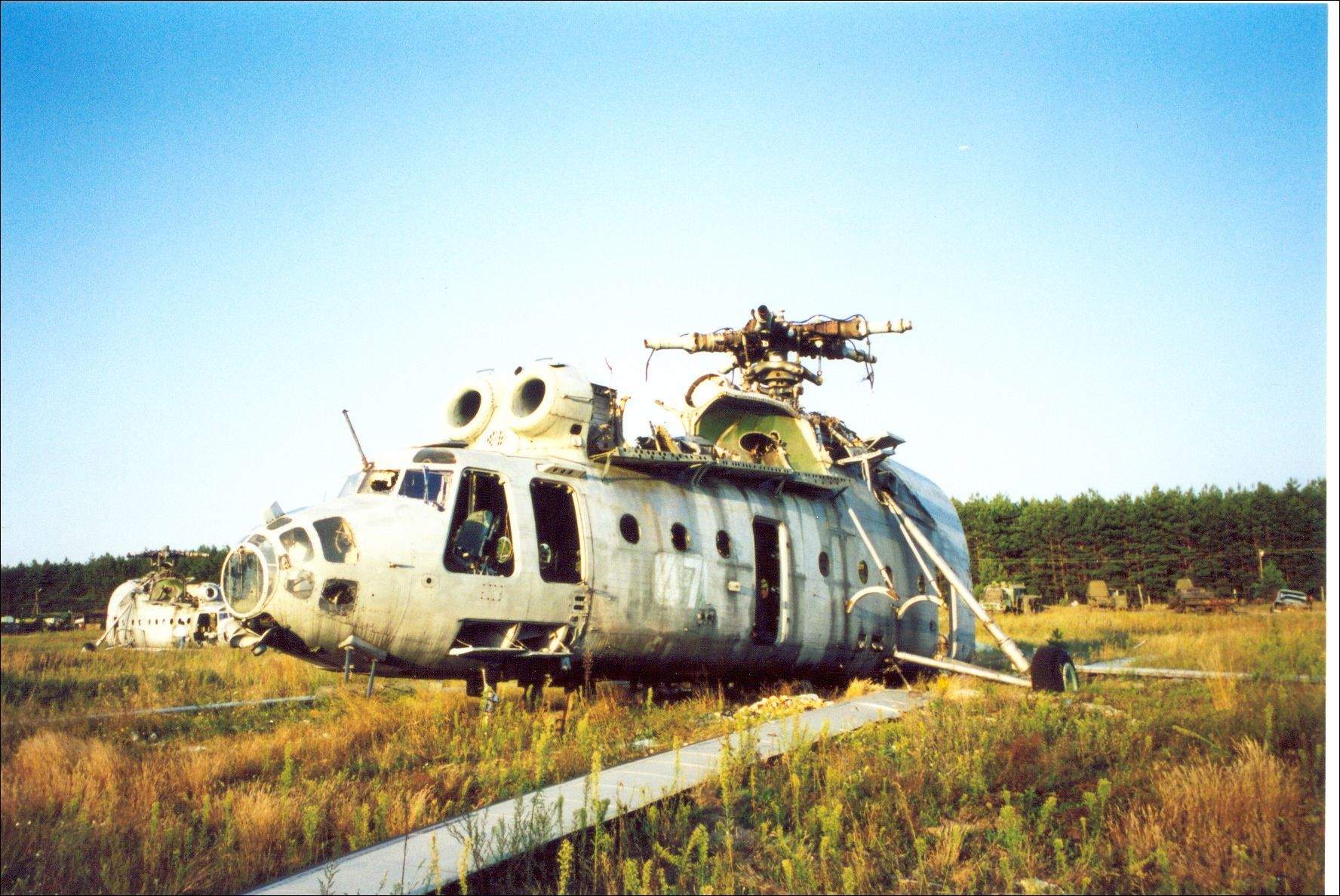 helicopter Chernobyl Aircraft HD Wallpaper