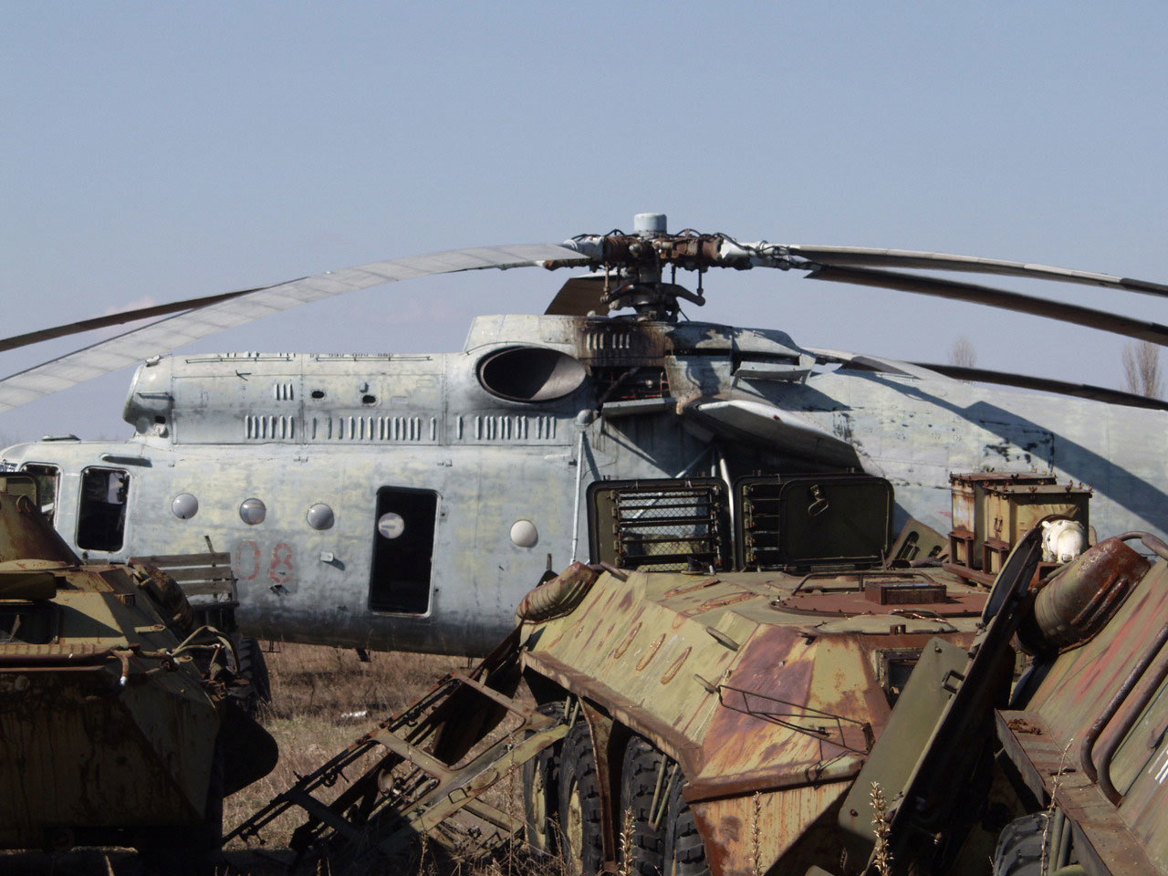 Helicopters Chernobyl vehicles mi HD Wallpaper