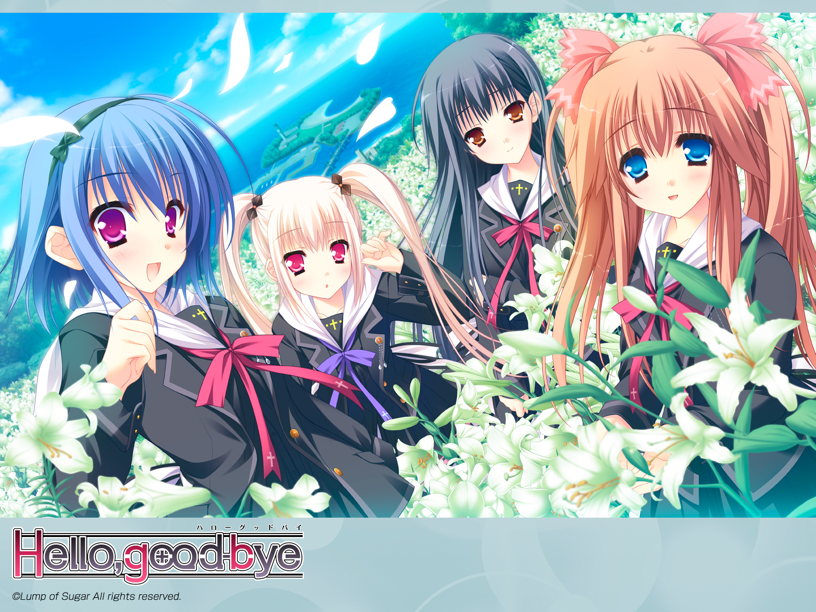 hello good-bye Anime HD Wallpaper