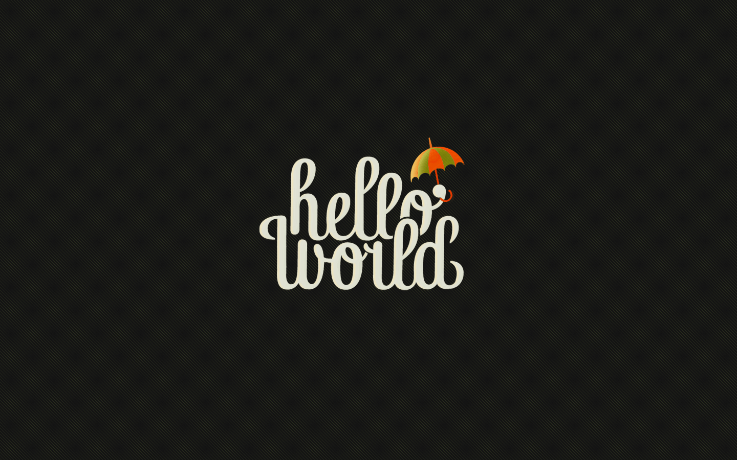 hello World HD Wallpaper
