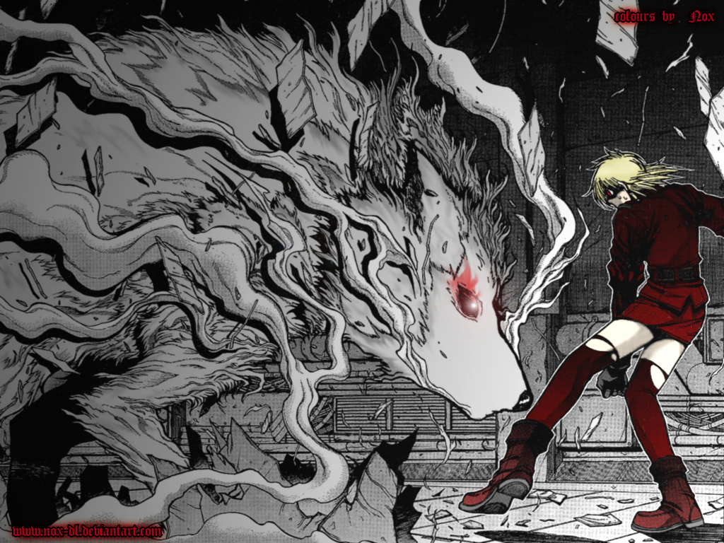 hellsing Seras Victoria Captain HD Wallpaper