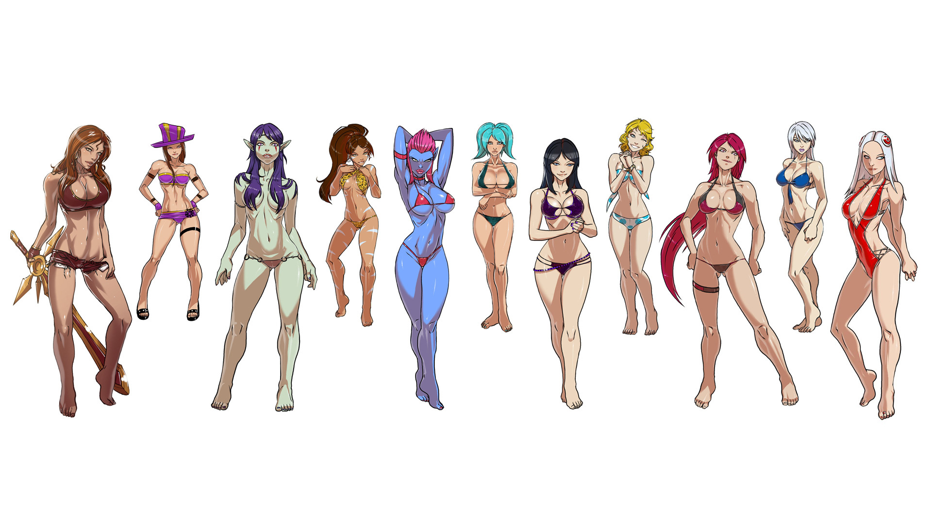 hentai League of Legends HD Wallpaper