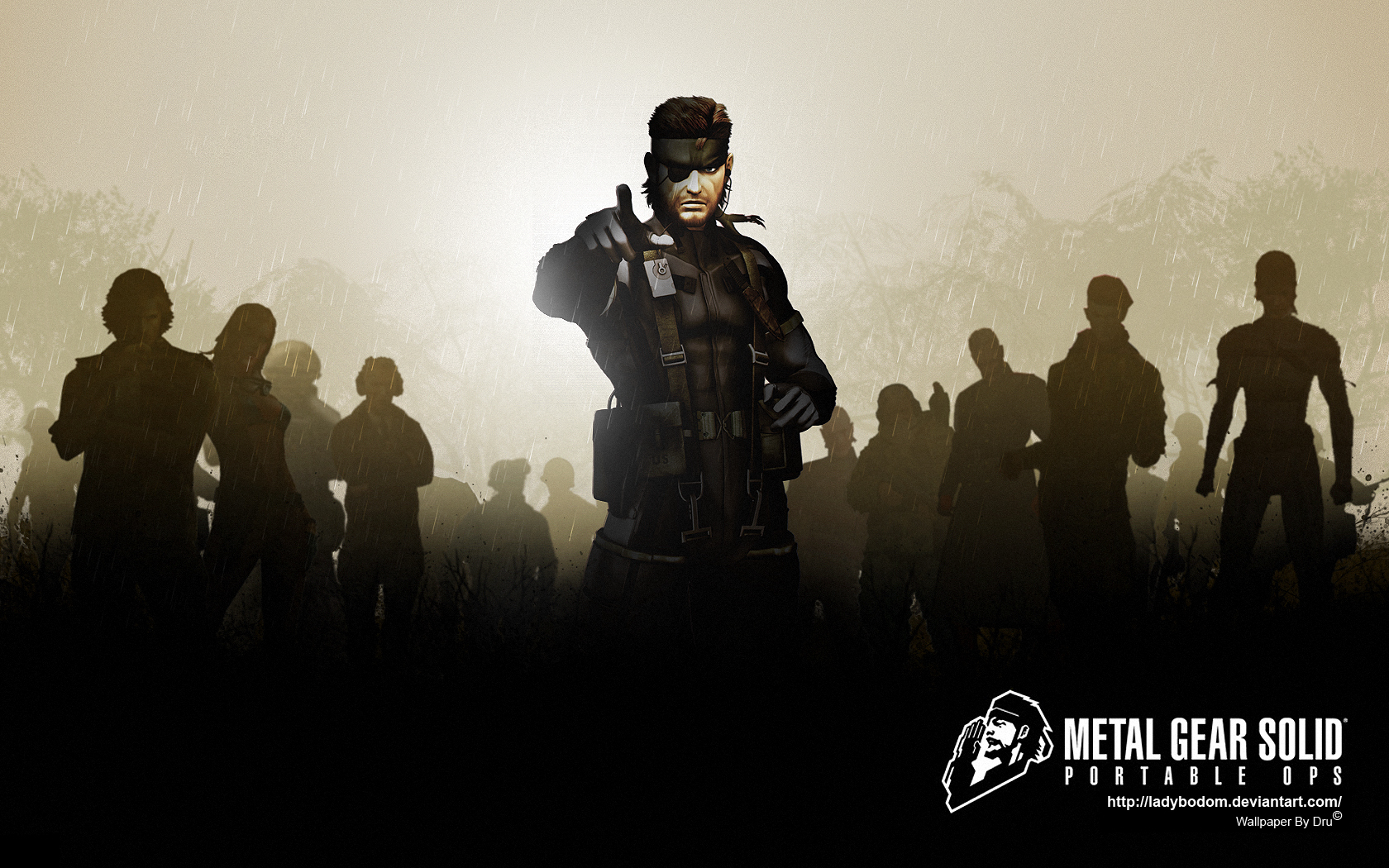here some mgs portable HD Wallpaper