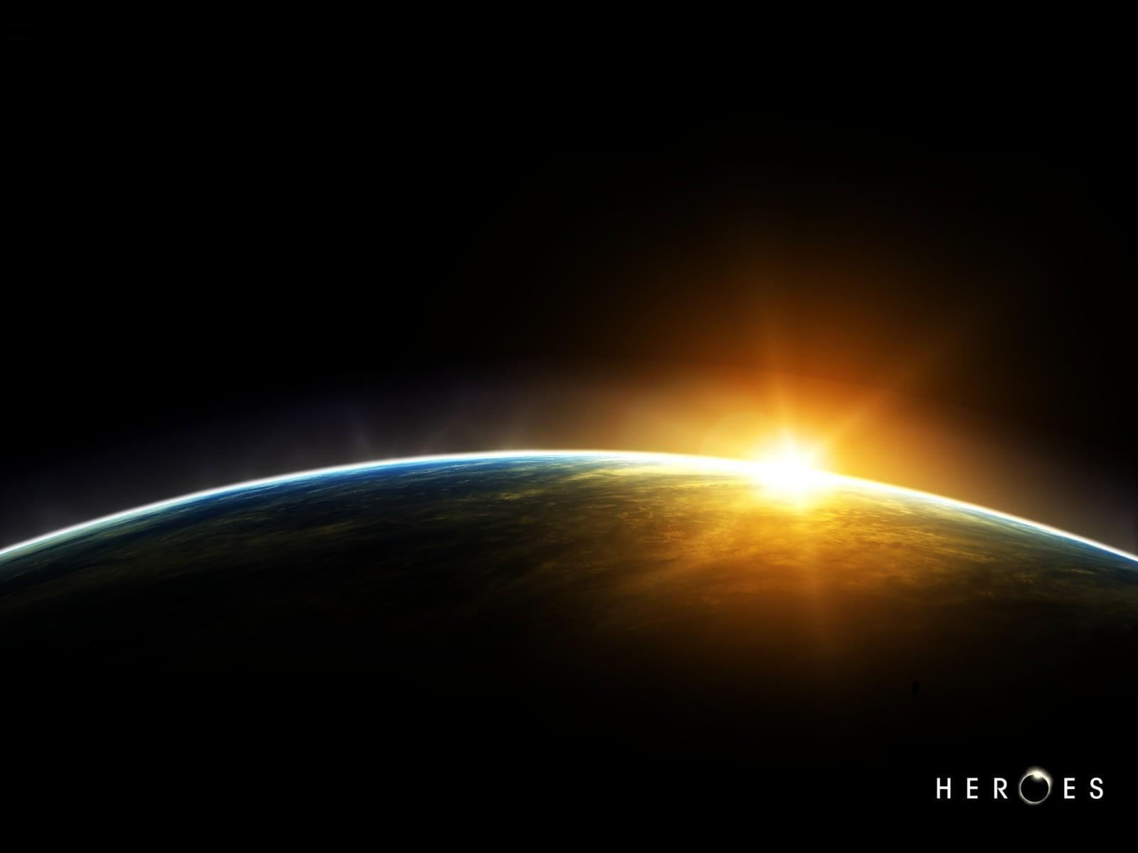 Heroes (TV Series) Earth HD Wallpaper