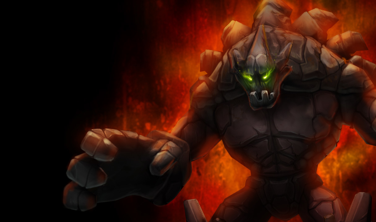 high malphite splash HD Wallpaper