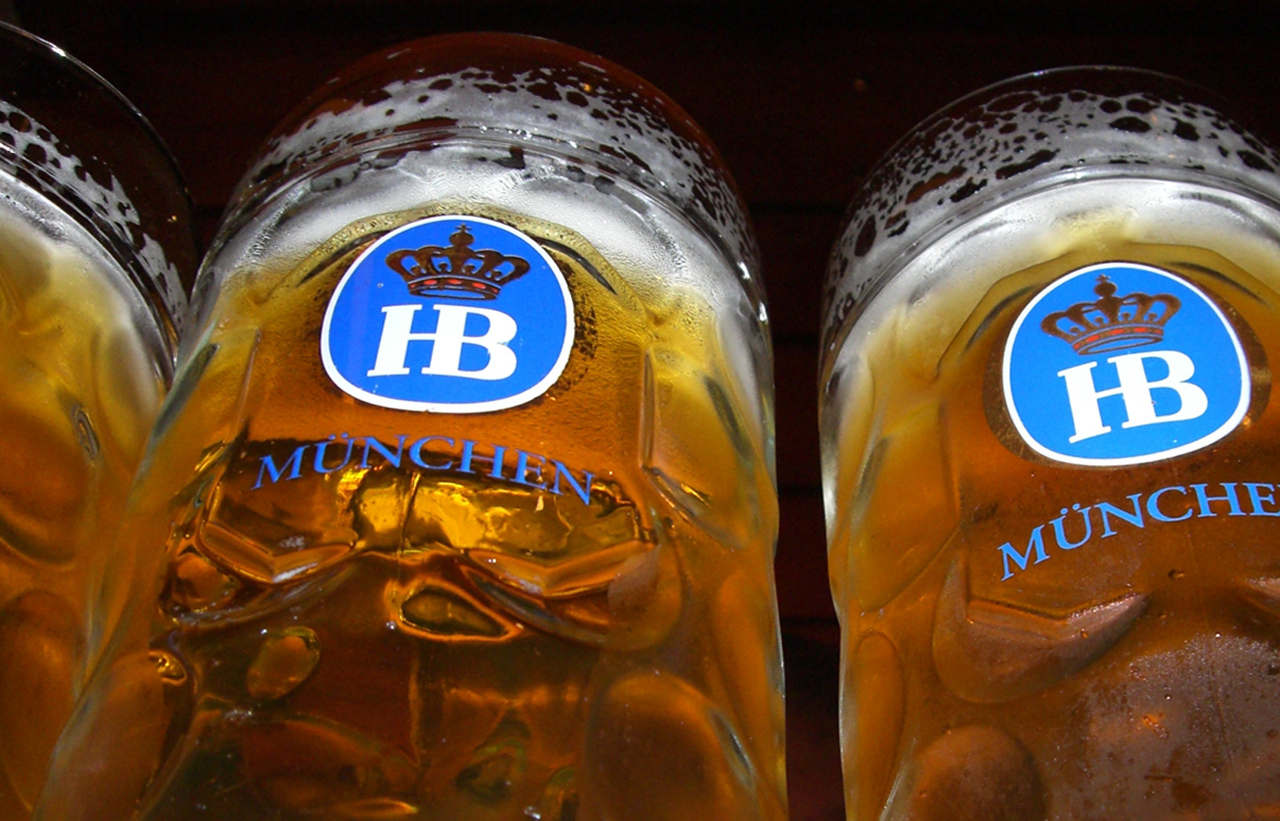 hoffbrau bier mugs nice HD Wallpaper