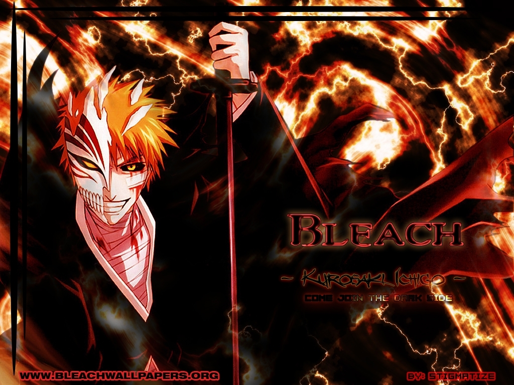 hollow Anime bleach kurosaki HD Wallpaper