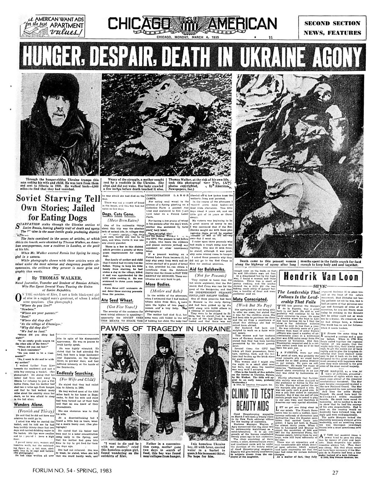 holodomor hunger despair death HD Wallpaper