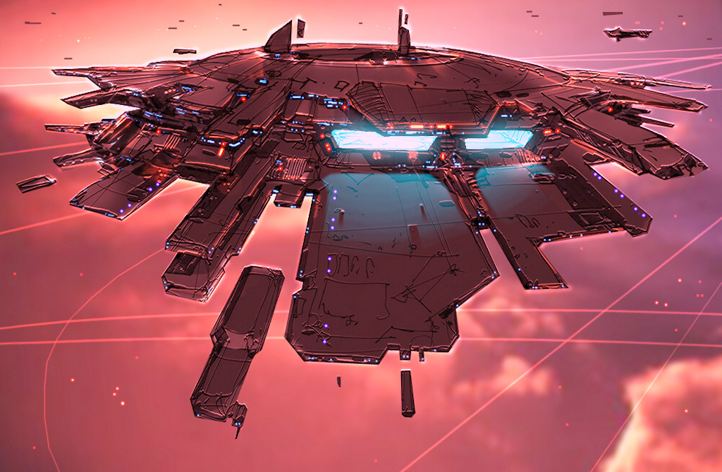 homeworld Space Station one HD Wallpaper