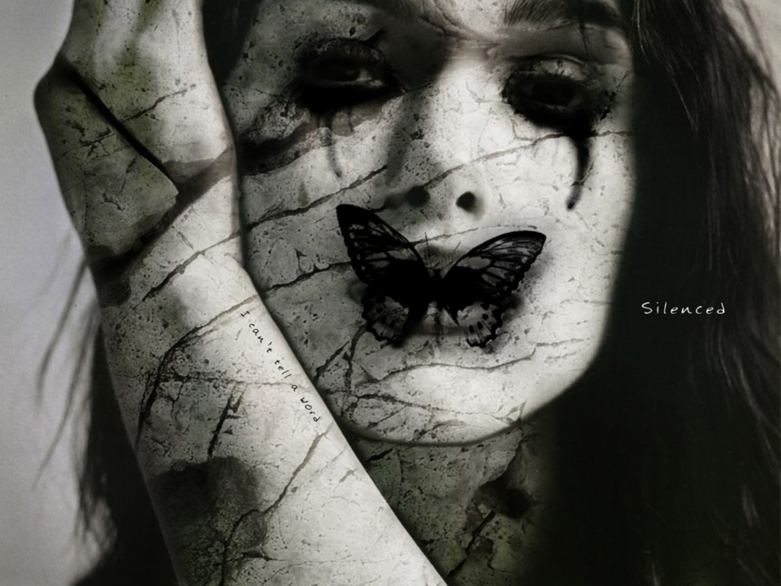 horror emo Gothic silence HD Wallpaper