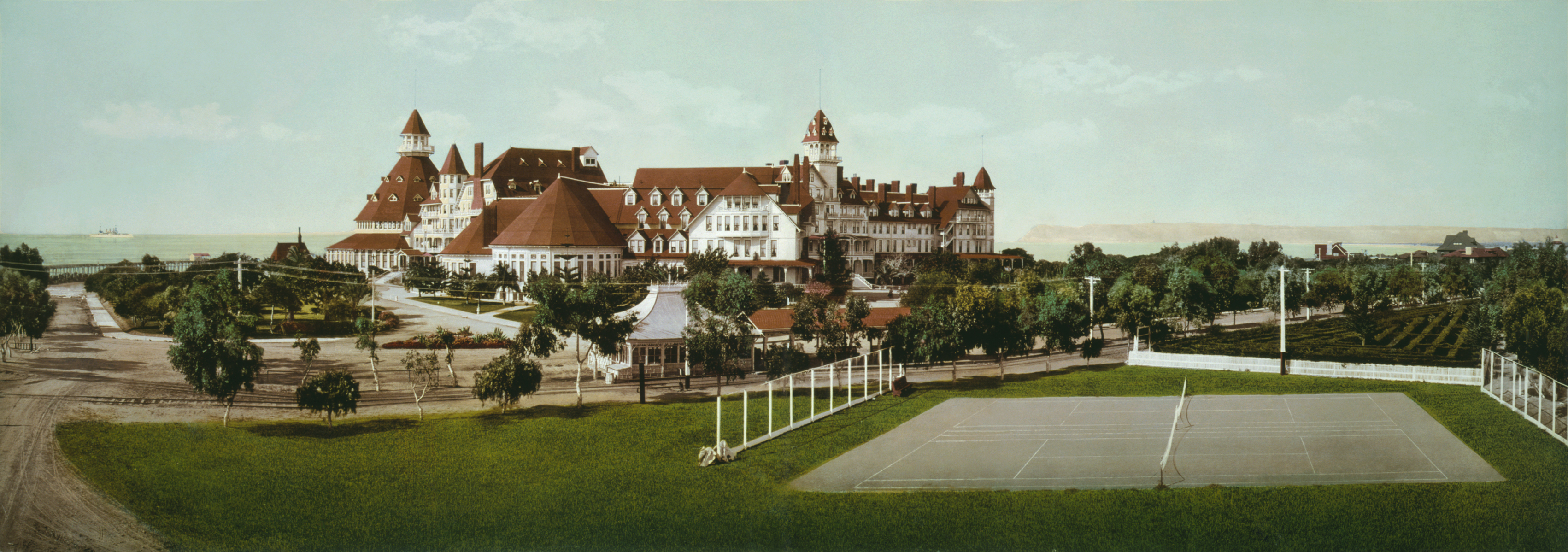 Hotel del coronado high HD Wallpaper