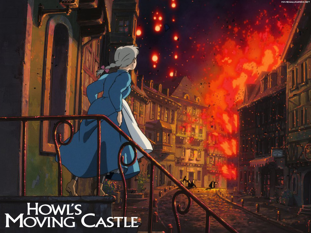 Howl moving castle Anime HD Wallpaper