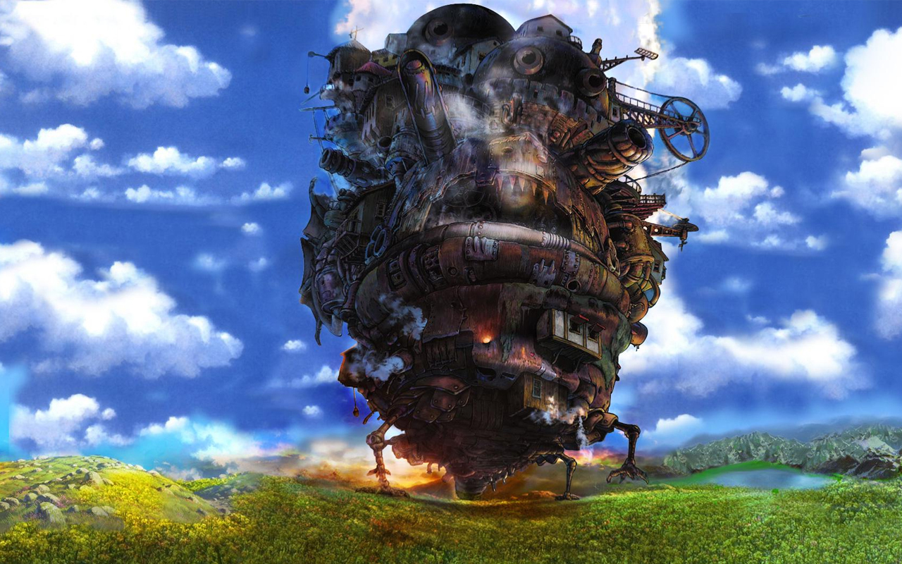 Howl's Moving Castle HD Wallpaper