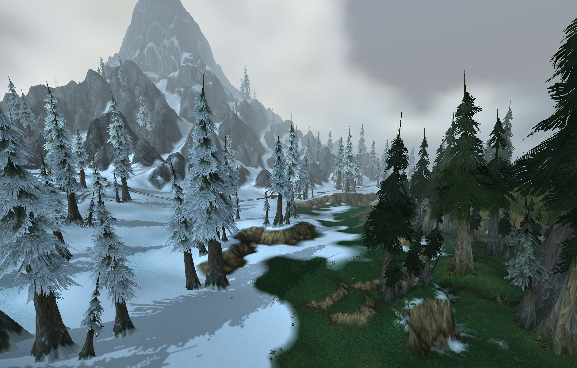 howling fjord snow and HD Wallpaper
