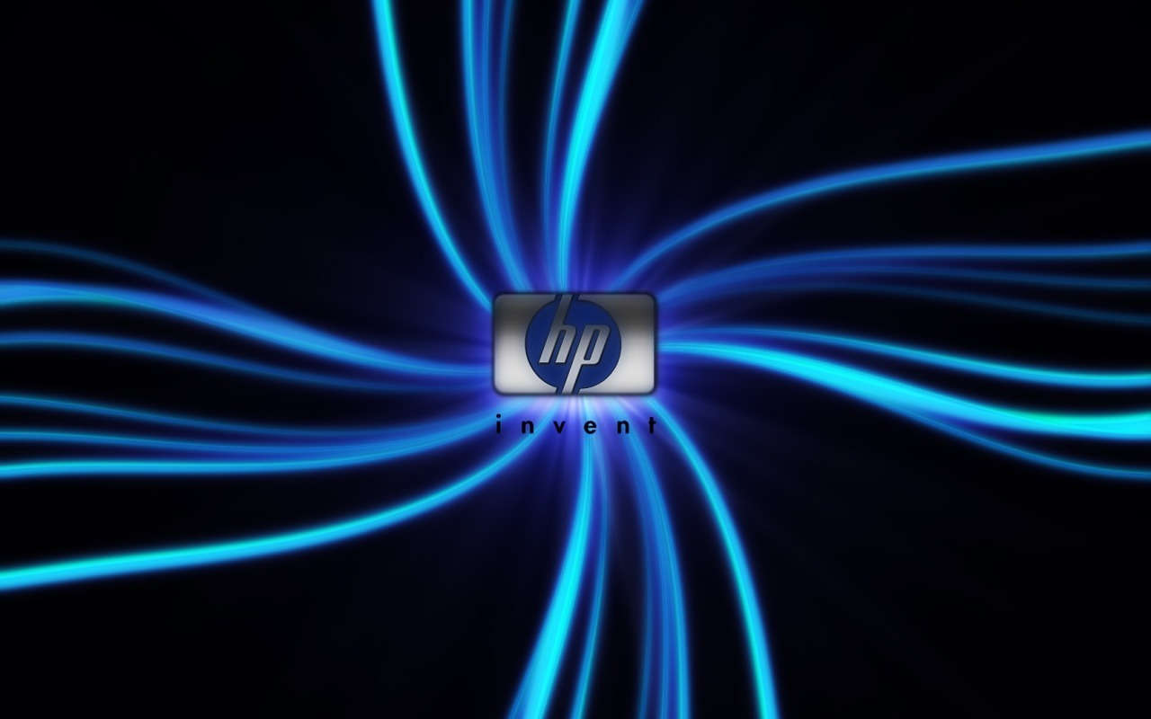 hp logo widescreen kinda HD Wallpaper