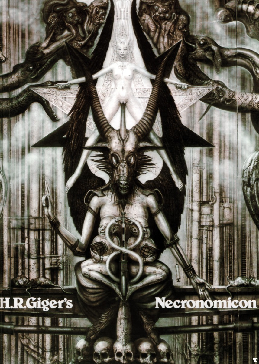 hr giger necronom high HD Wallpaper