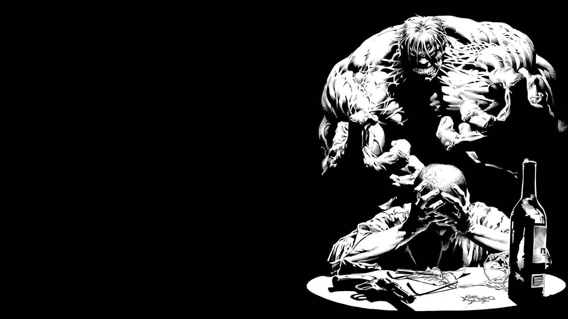 Hulk (comic character) comics HD Wallpaper