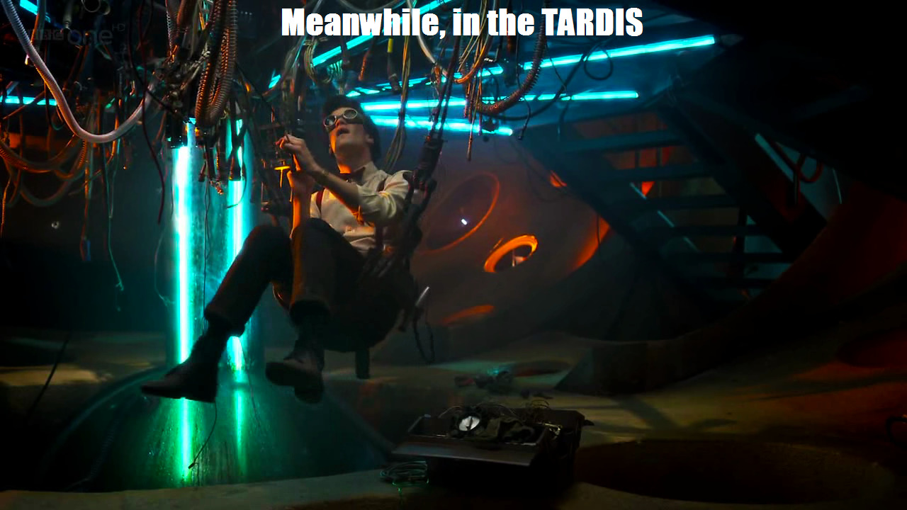 humor tardis matt smith HD Wallpaper