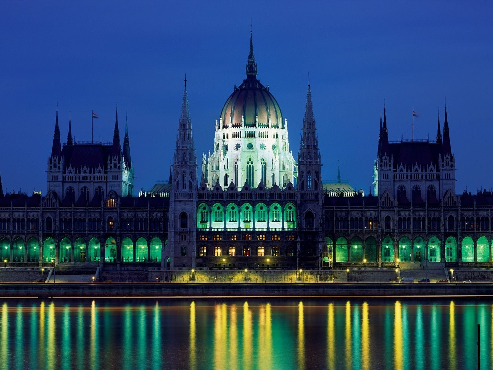 hungary budapest parliament houses HD Wallpaper