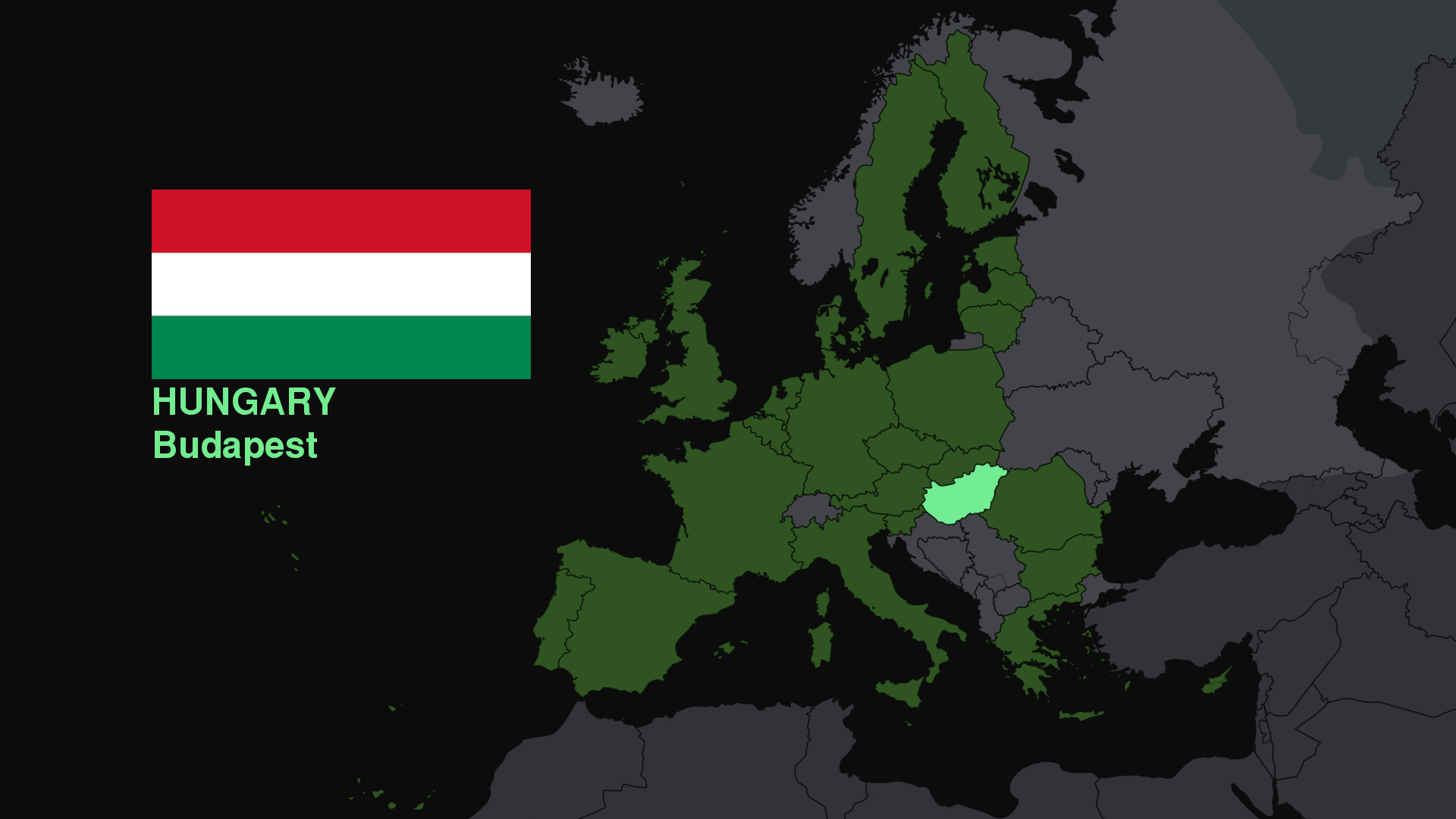 hungary Flags Europe Maps HD Wallpaper