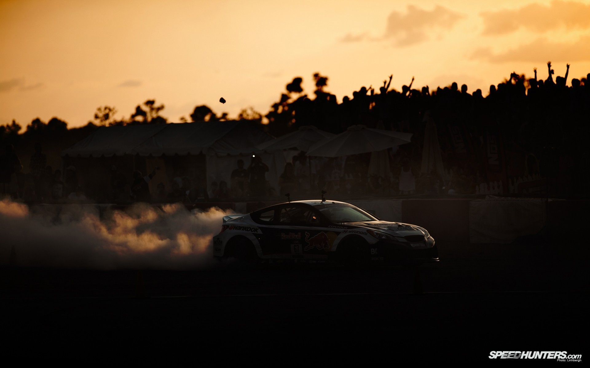 Hyundai Drifting HD Wallpaper