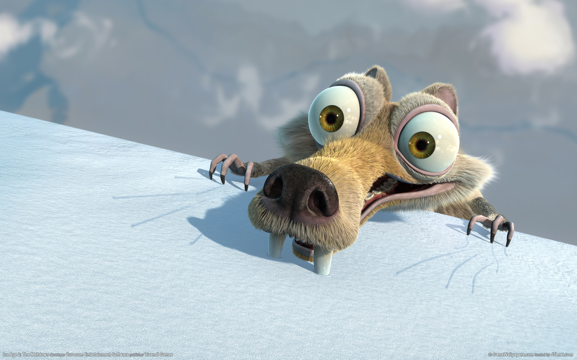ice age scrat funny HD Wallpaper