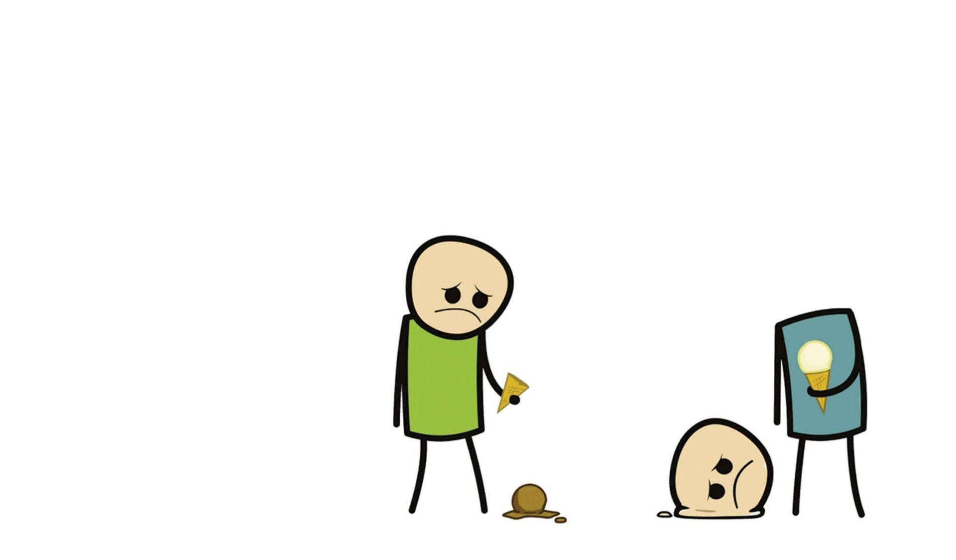 ice cream sad cyanide HD Wallpaper