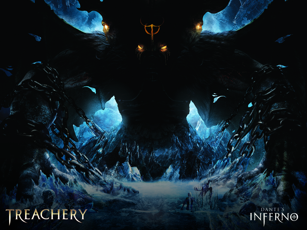 ice hell Frozen devil HD Wallpaper