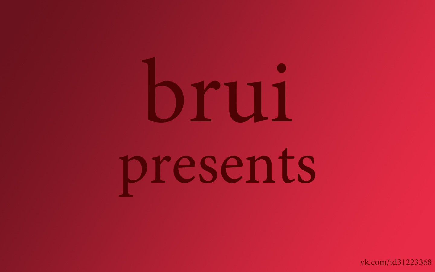 icon presents Brui HD Wallpaper
