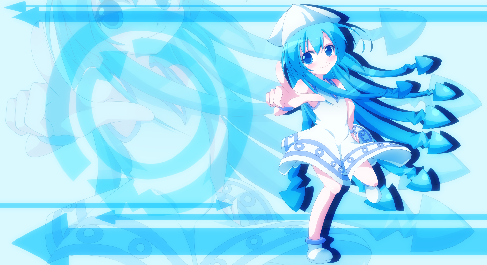 ika musume shinryaku best HD Wallpaper