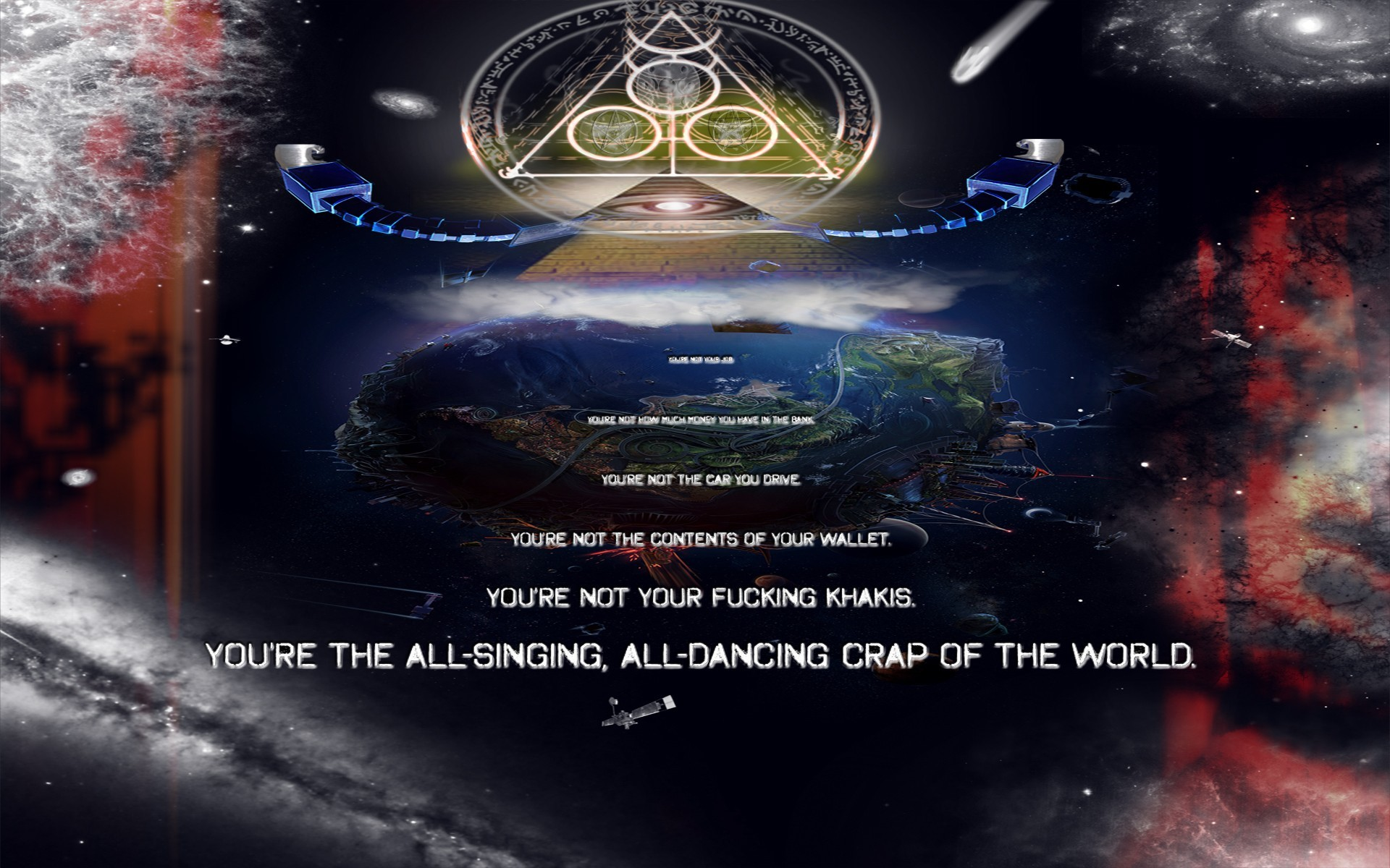 Illuminati New World Order HD Wallpaper