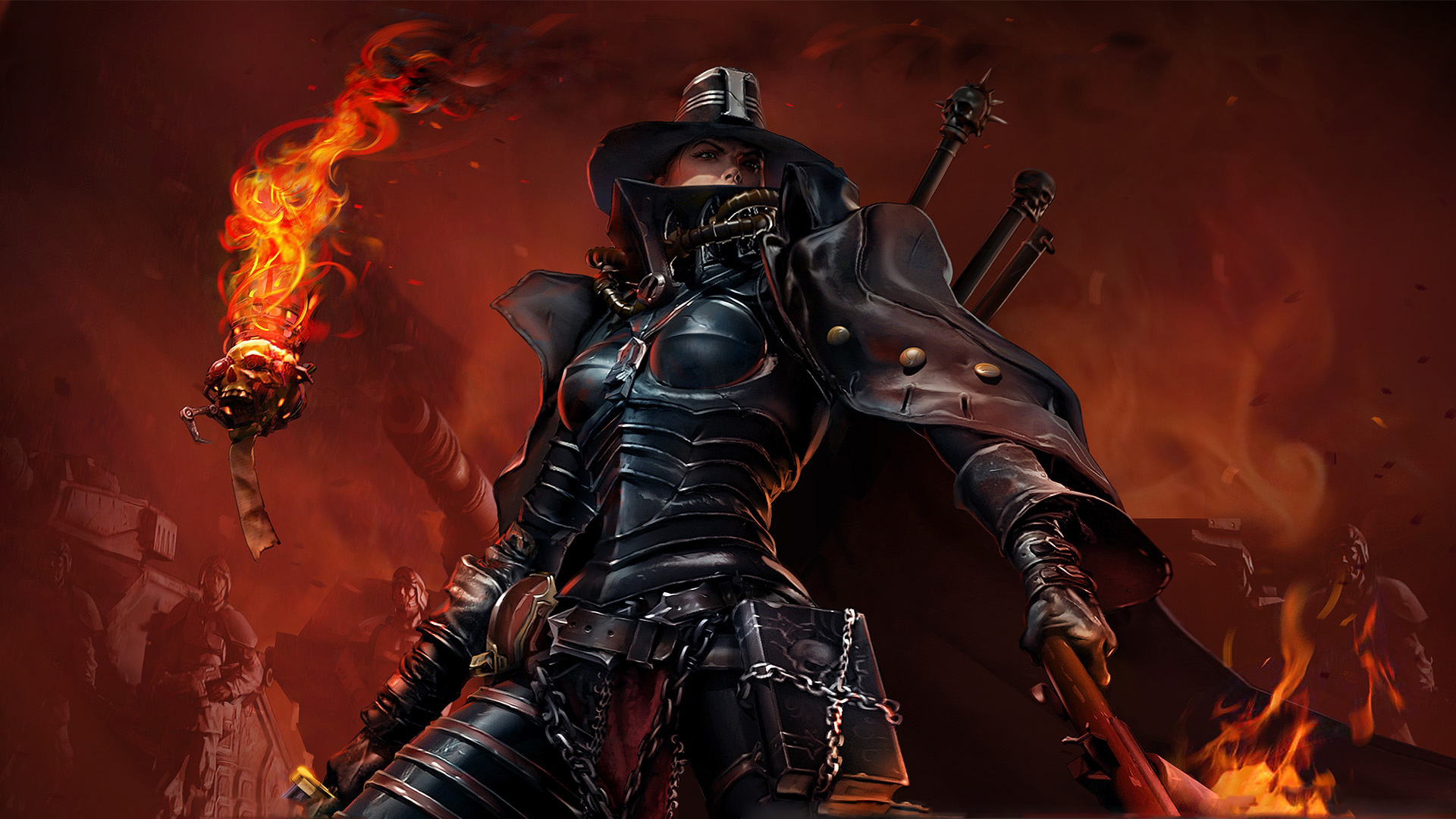 imperial guard Inquisitor Adrastia HD Wallpaper