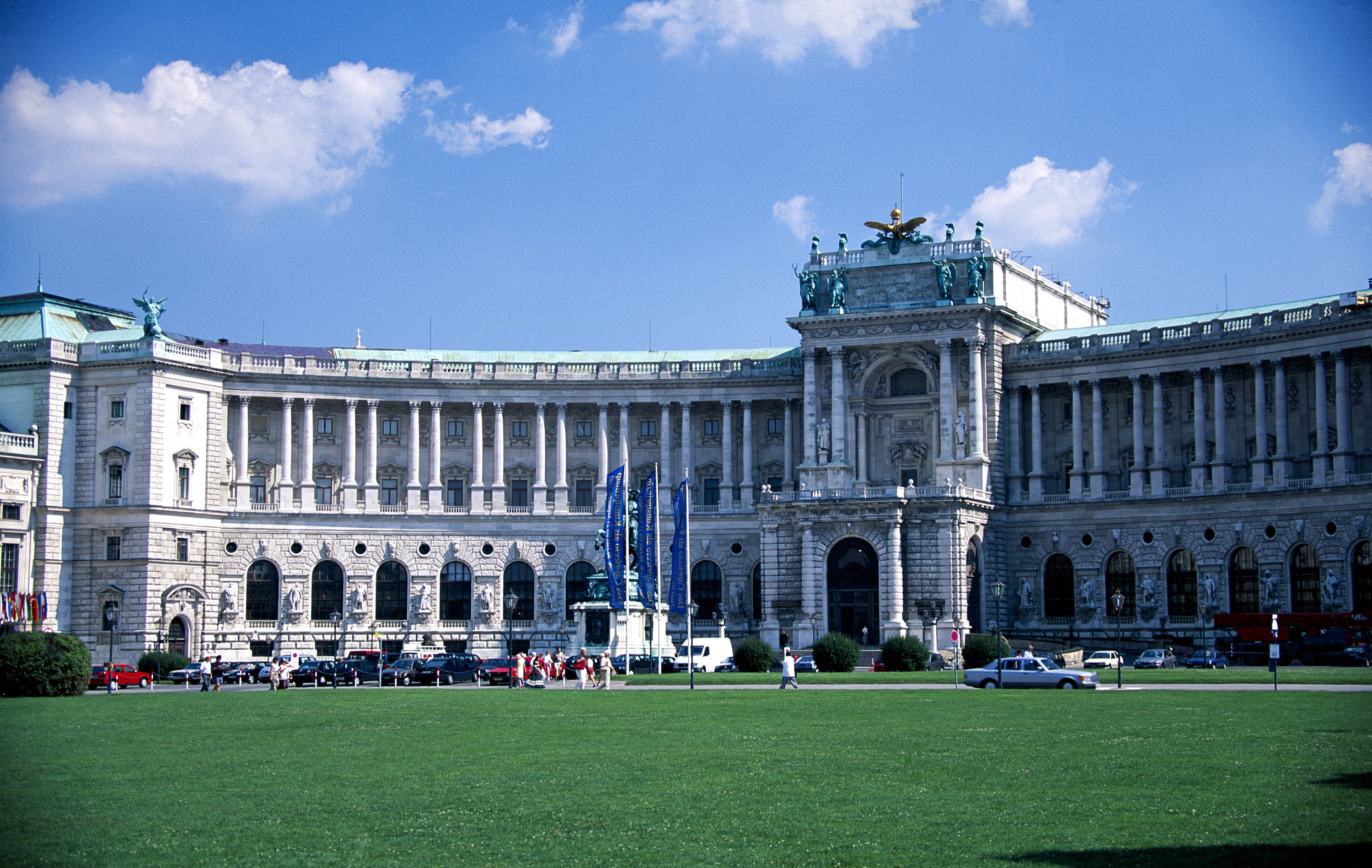 Imperial palace vienna Austria HD Wallpaper