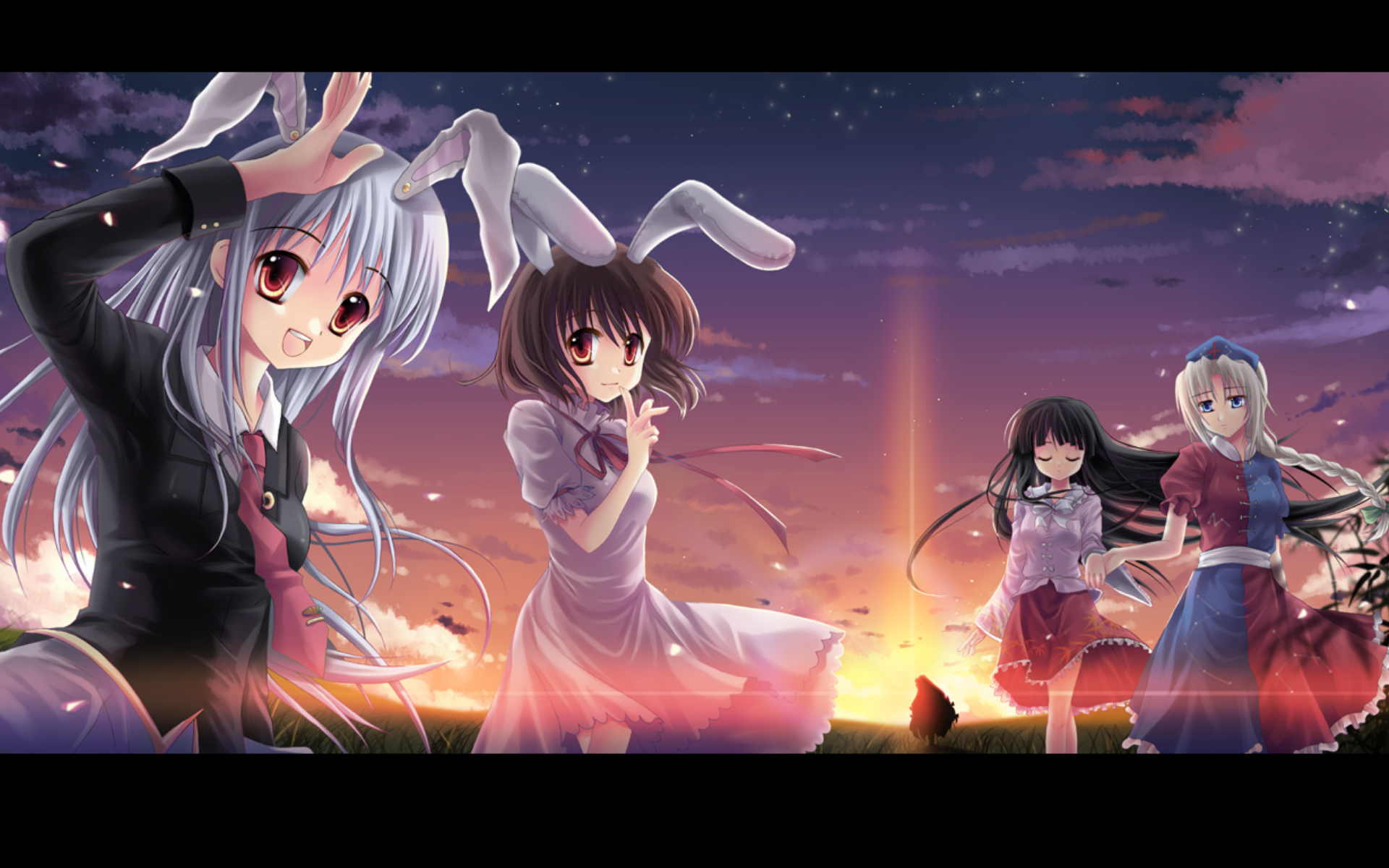Imperishable Night houraisan kaguya HD Wallpaper