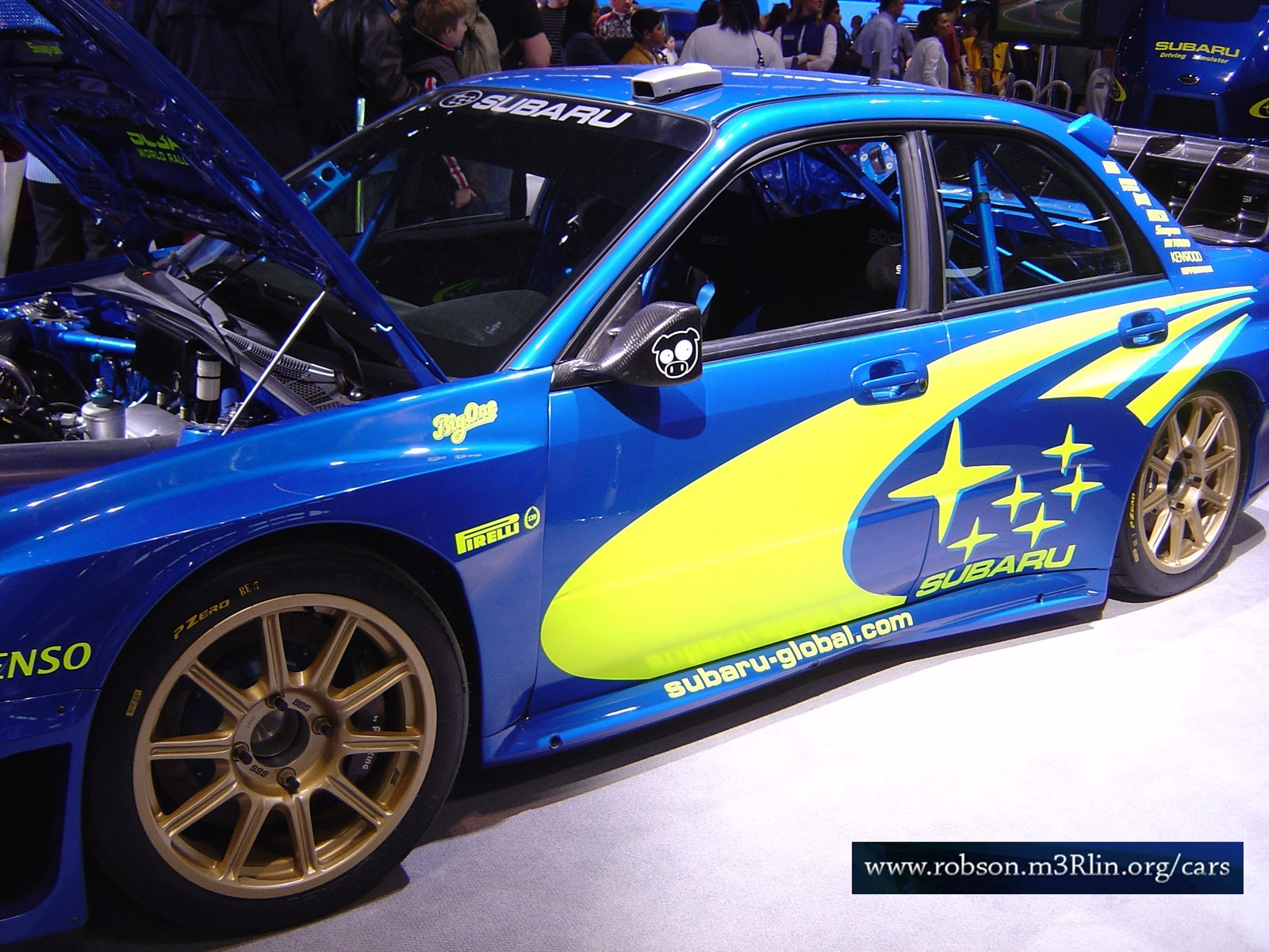 Impreza wrc Car cars HD Wallpaper