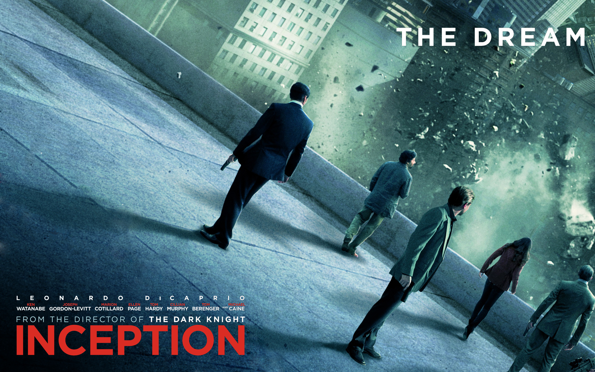 inception Movie HD Wallpaper
