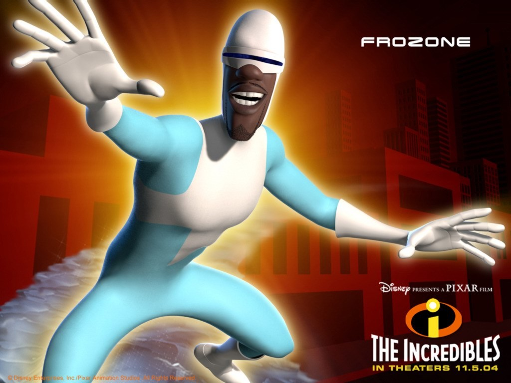 incredibles frozone cartoon HD Wallpaper