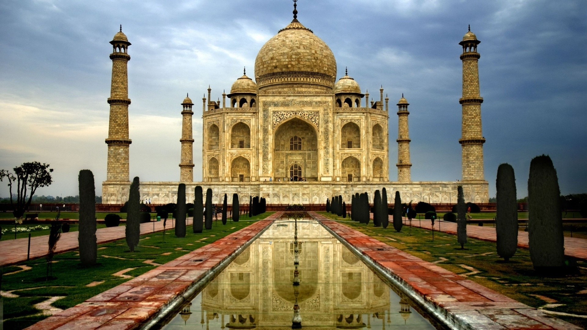 India Taj Mahal Persian HD Wallpaper