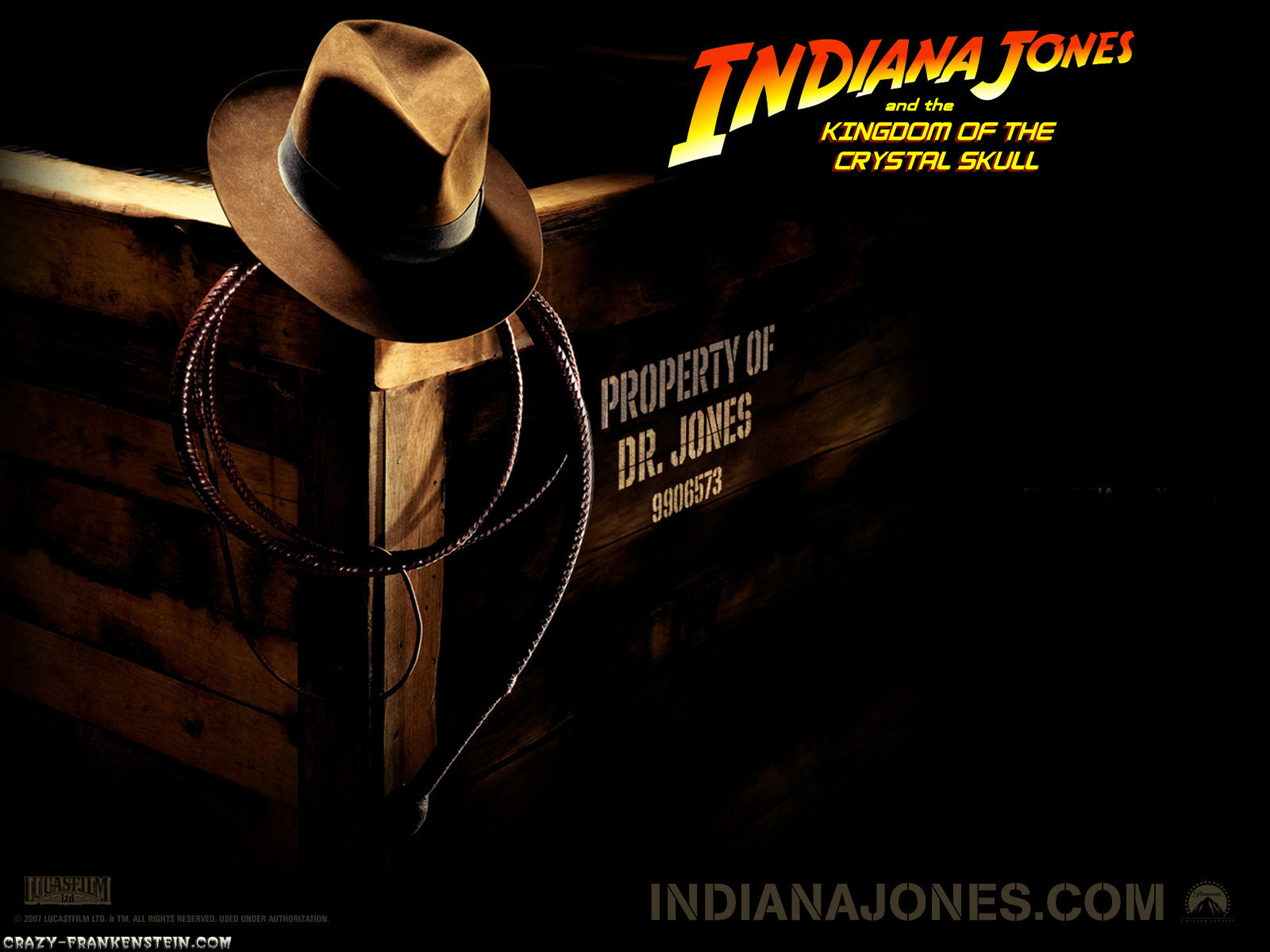 Indiana jones and The HD Wallpaper
