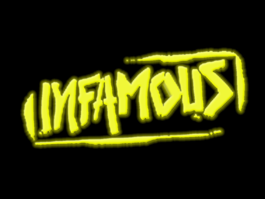 Infamous background HD Wallpaper