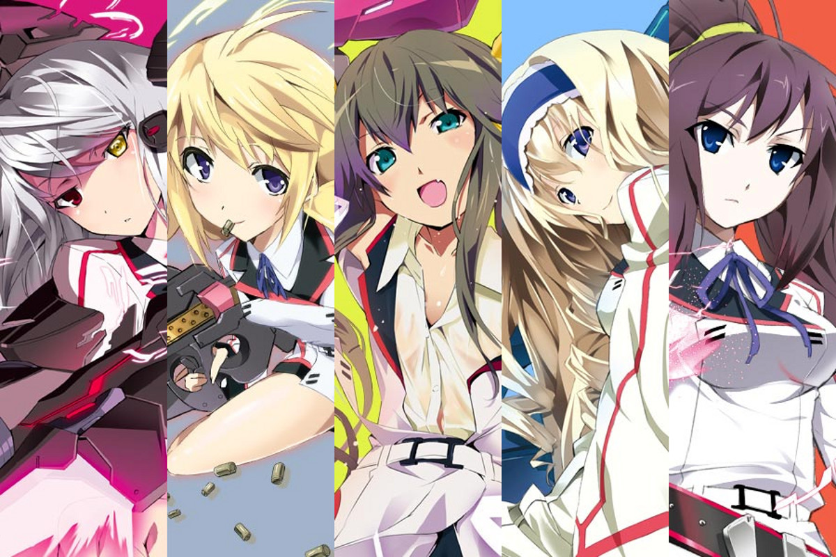 infinite stratos Dunois Charlotte HD Wallpaper
