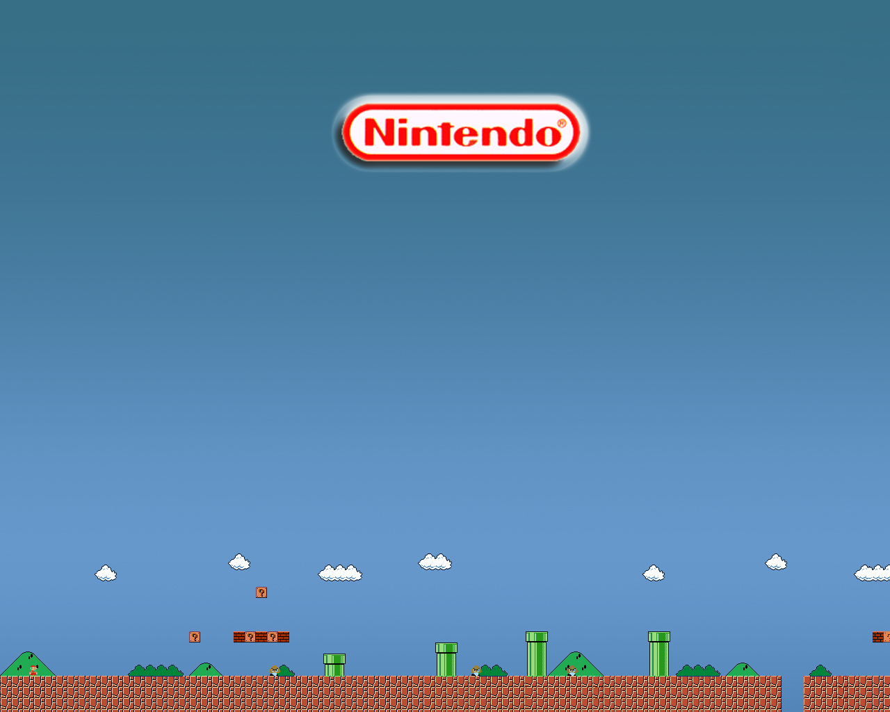 ing Mario bros animated HD Wallpaper