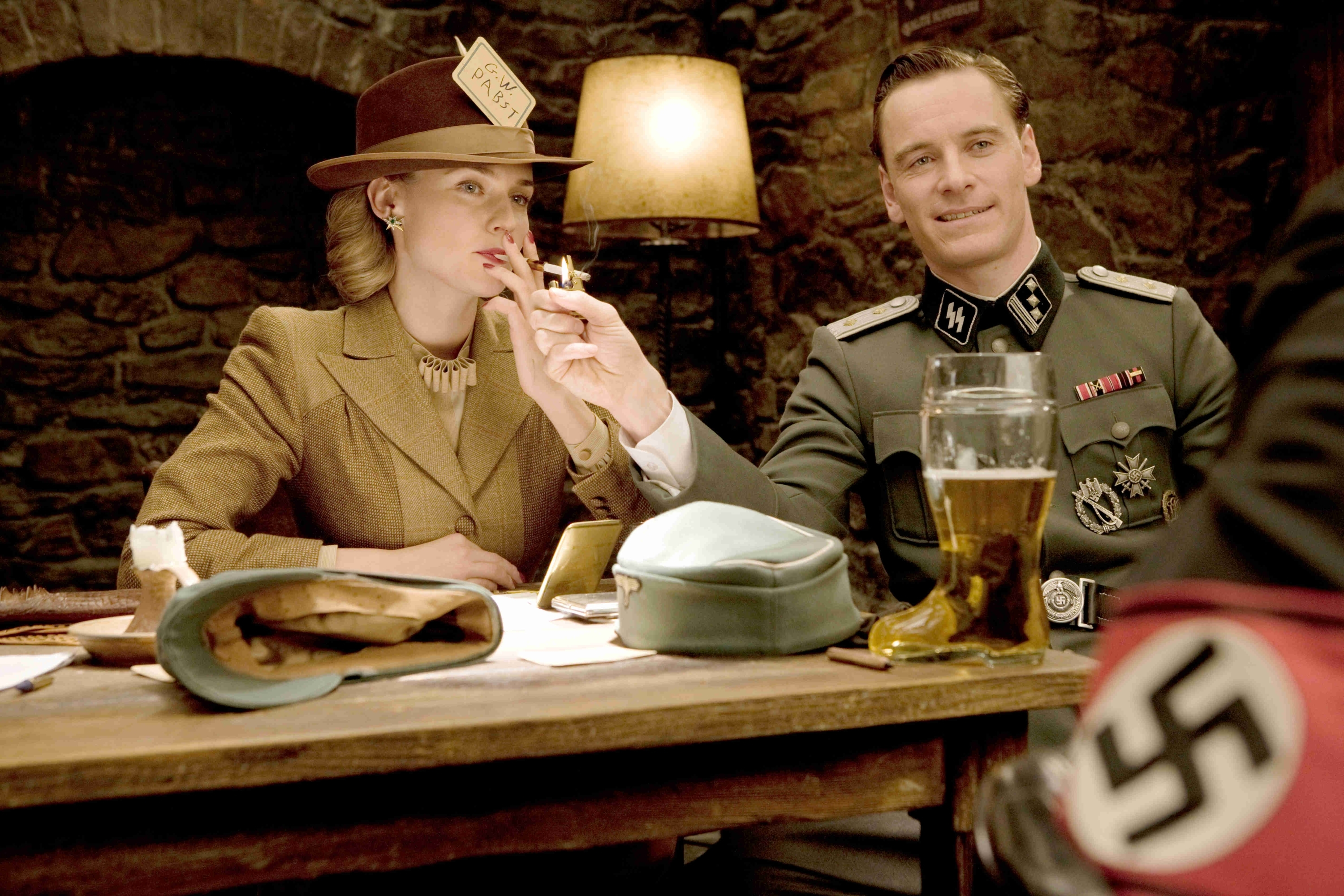 inglorious basterds Michael fassbender HD Wallpaper