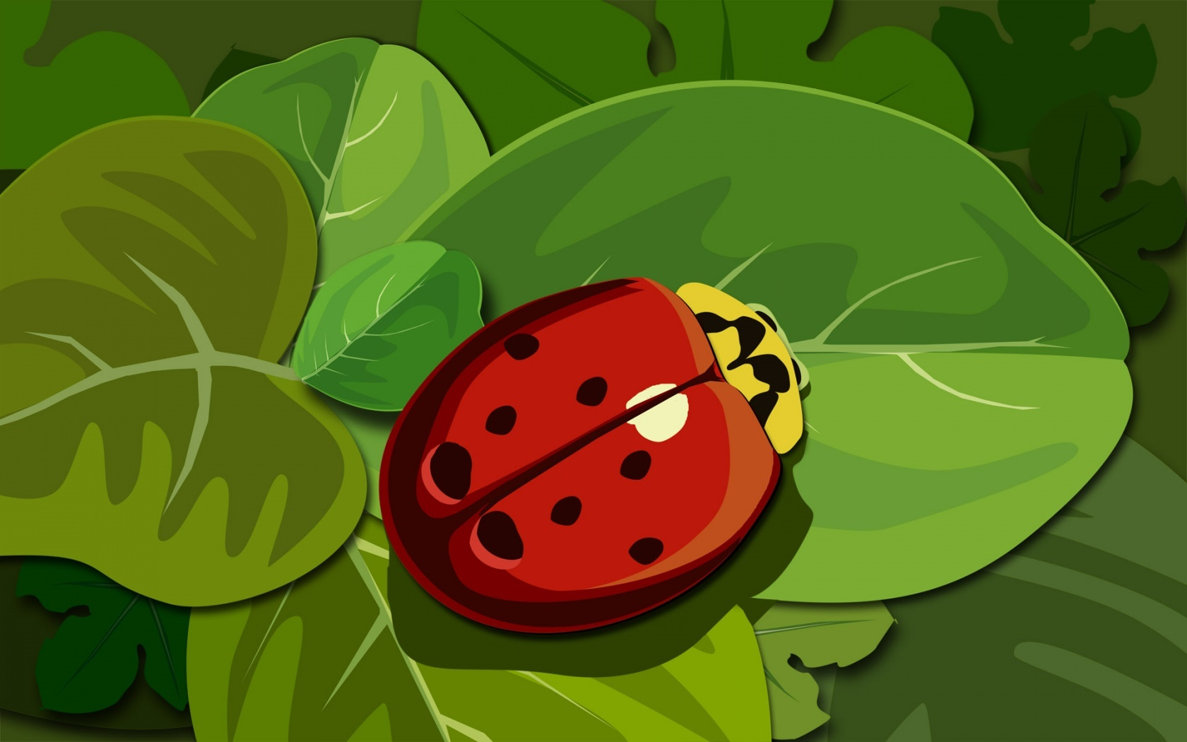 insects ladybug insect artistic HD Wallpaper