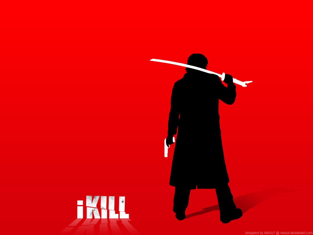 ipod Kill Bill Simple HD Wallpaper